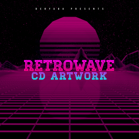 Customizable Design Templates for Retrowave | PosterMyWall
