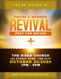 Revival Church Flyer