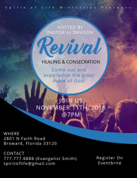 Revival Event Flyer