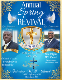 Revival Flyer