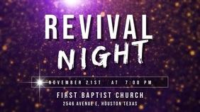 revival night 数字显示屏 (16:9) template