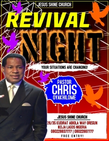 REVIVAL NIGHT TEMPLATE