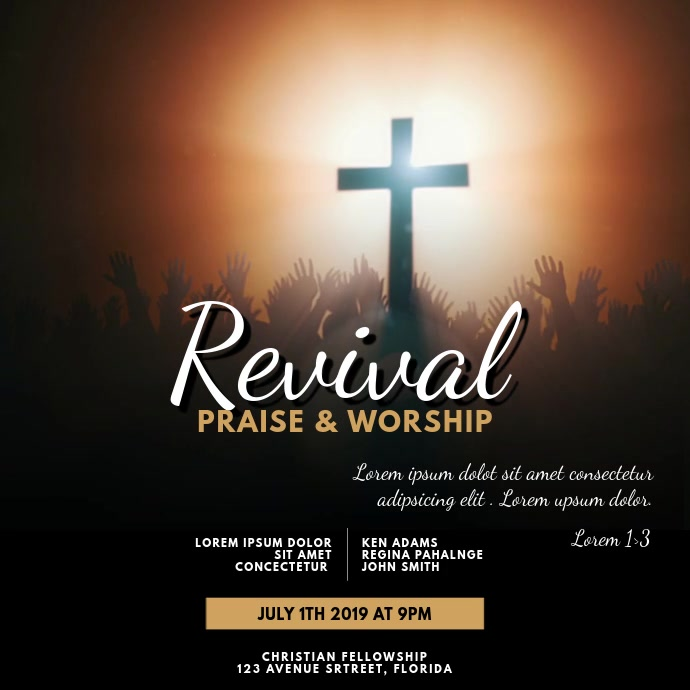Revival Praise & Worship Video Template