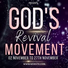 revival video template Post Instagram