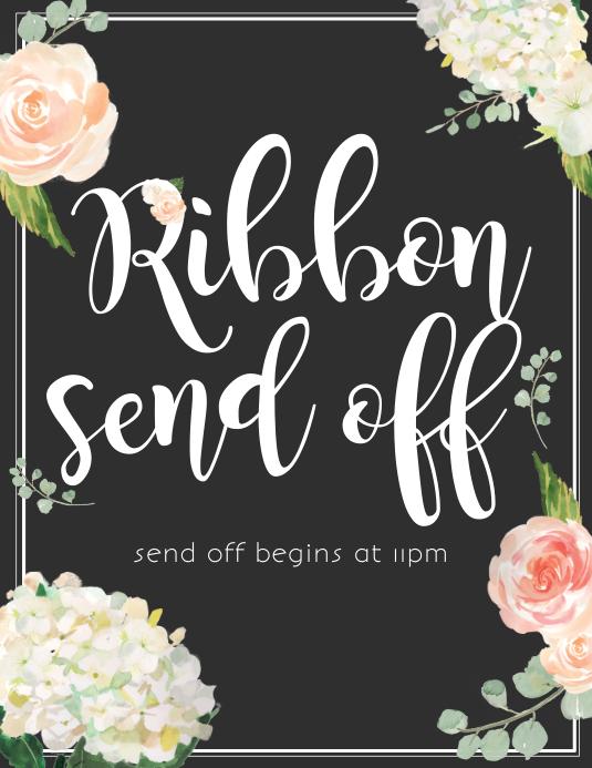 Ribbon send off