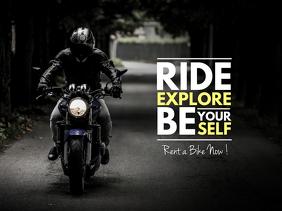 Ride/Explore Banner