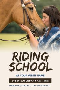 Riding School Poster