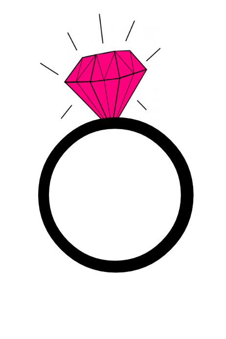 ring party prop frame template