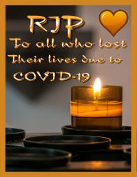 RIP COVID Volante (Carta US) template