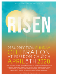 Risen Church Flyer