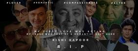 Rishi Raj Kapoor Films Template Foto Sampul Facebook