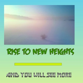 Rising to new heights