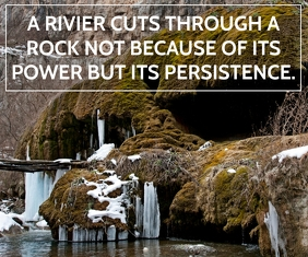 RIVER AND ROCK QUOTE TEMPLATE Large Rectangle