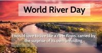 River Day Gedeelde afbeelding op Facebook template
