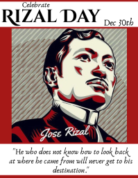 Rizal Day Flyer (US Letter) template