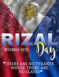Rizal Day Template Flyer (US Letter)