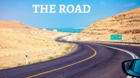 ROAD,TRAVEL,TRAFFIC,TRIP Fotografia de capa do canal do YouTube template