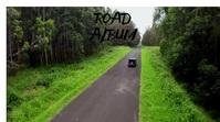 Road album cover template