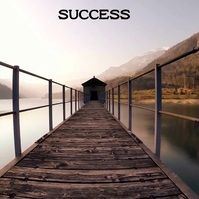 road to success and travel Message Instagram template