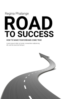 Road to success book cover template Kindle/Book Covers