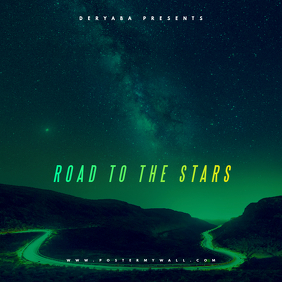 Road to the Stars CD Cover Template