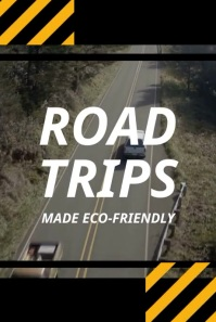 Road Trip Eco-friendly Pinterest Pin