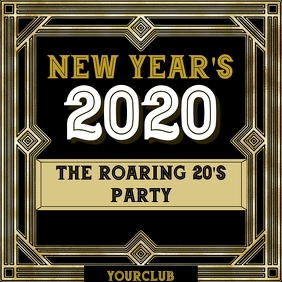 Roaring 20's new year party