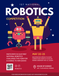 Robotics Boot Camp for Starters Flyer