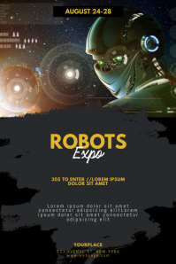 Robots Expo Fair Flyer Template