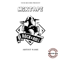rock & roll Music Mixtape/Album Cover A