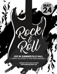 Rock & Roll Flyer
