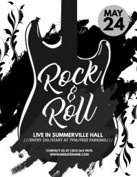 Rock & Roll Flyer