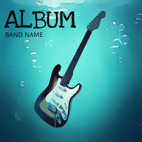 Rock Band Album Cover TEmplate