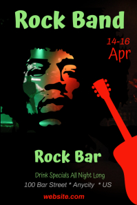 Rock Band Bar Template