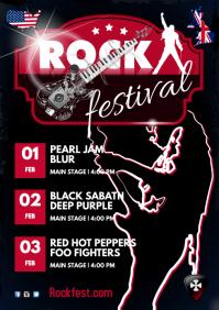Rock Festival Schedule