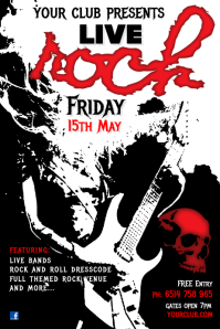 Rock Live Poster