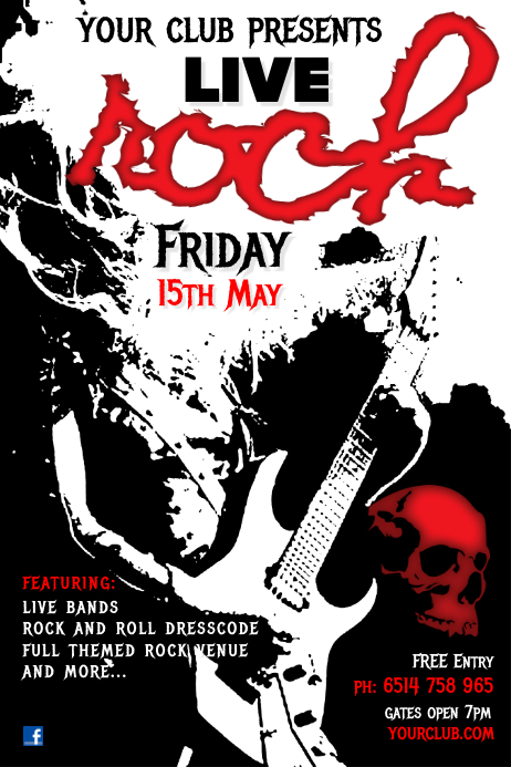 Rock Live Poster