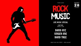 Rock Music Concert Band Guitar Video Event A