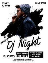 Dj Night Flyer Template
