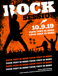 ROCK SESSION FLYER