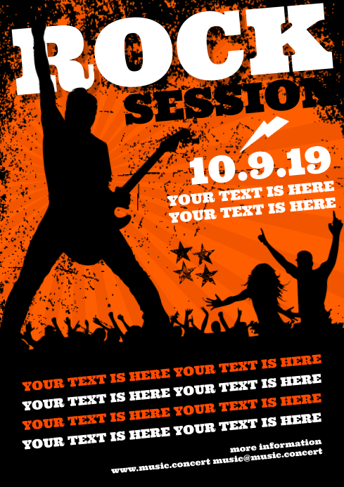 ROCK SESSION POSTER