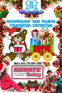 RocknRocker Kids Pajama Foundation Christmas