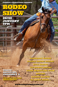 Rodeo Poster Template