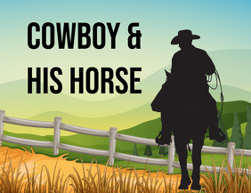 Cowboy and his Horse book cover