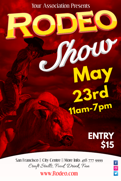RodeoShow Poster