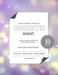 Romantic Event Flyer Design Template