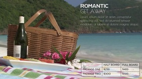 ROMANTIC GETAWAY VIDEO TEMPLATE