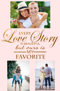 Romantic Love Story Poster Flyer Print Gift Anniversary