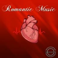 Romantic music Trap Mixtape/Album Cover Art