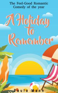 RomCom Kindle Book Cover Template Sampul Buku